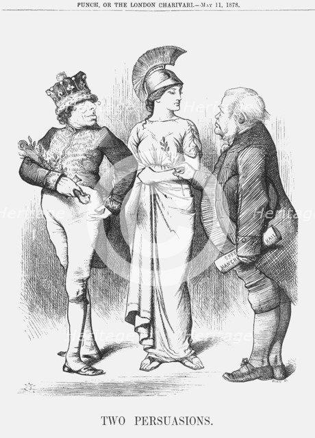 'Two Persuasions', 1878. Artist: Joseph Swain