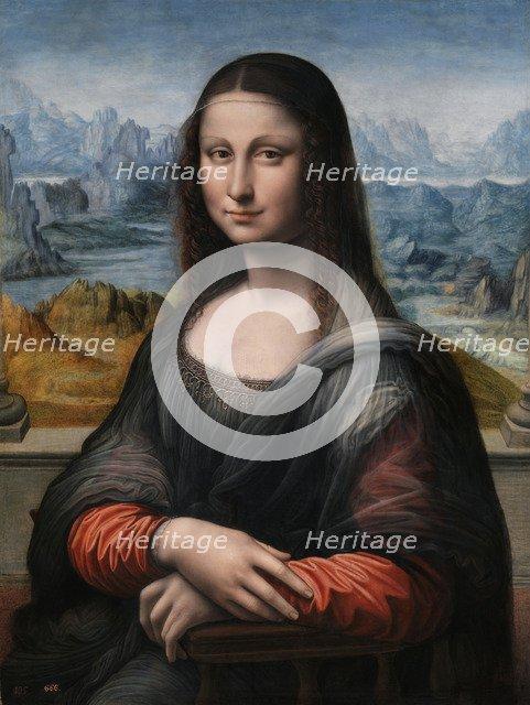 Mona Lisa (La Gioconda), 1503-1516. Artist: Leonardo da Vinci, (Circle of)