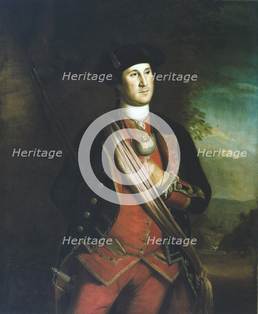 George Washington (1732-1799), First President of the USA. Artist: Unknown