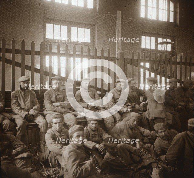 German prisoners of war, c1914-c1918. Artist: Unknown.