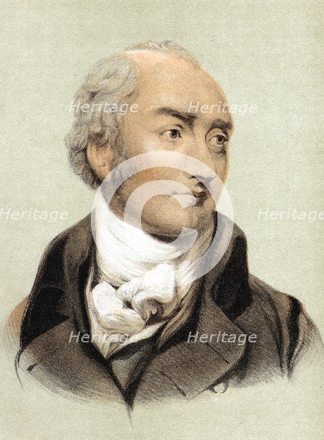 George Canning (1770-1827), English statesman and Primeminister from 1827. Artist: Unknown