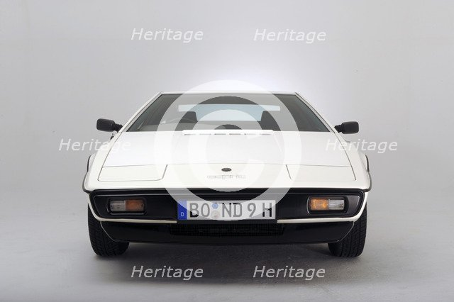 Lotus Esprit 1977 from the James Bond film The Spy Who Loved Me. Artist: Simon Clay.