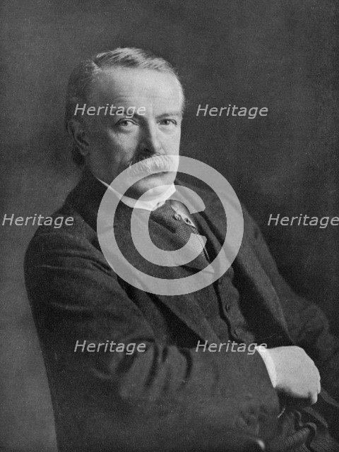 David Lloyd George, British politician, c1920.Artist: Haines