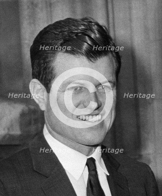 Senator Edward Kennedy (b1932), 1968. Artist: Unknown