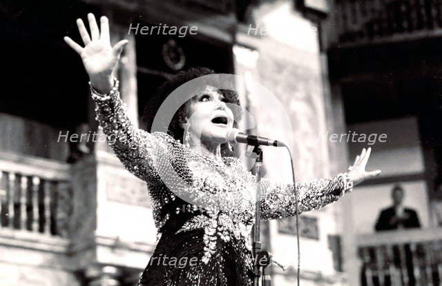 Cleo Laine, The Globe, London, 2000. Artist: Brian O'Connor