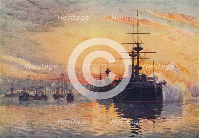 'Queen Victoria's Last Voyage, February 1, 1901', 1906. Artist: Unknown.