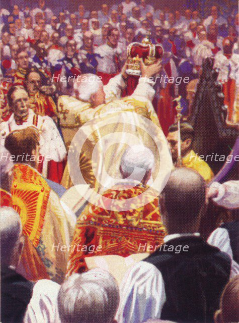 The Coronation of King George VI (1895-1952)', 12 May, 1937. Artist: Unknown