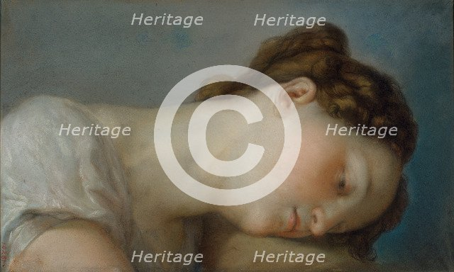 Woman's Head. Artist: López Portaña, Vicente (1772-1850)