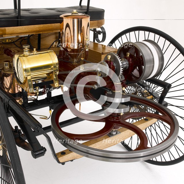 1885 Benz Three Wheeler. Artist: Unknown.