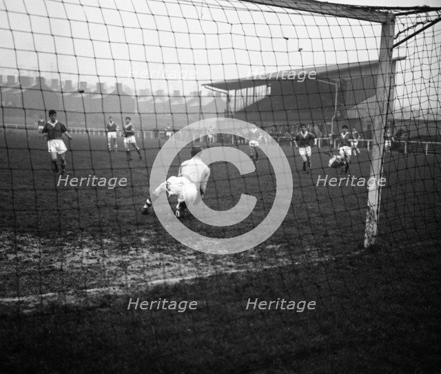 Football match, Horden, County Durham, 1963. Artist: Michael Walters