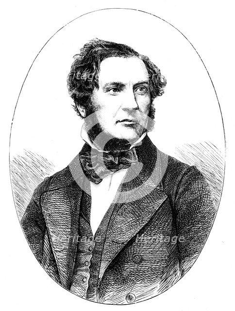 William Ewart Gladstone, British Liberal statesman and prime minister, 1855. Artist: Unknown