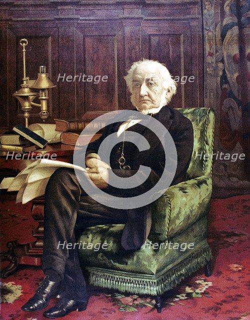 William Ewart Gladstone (1809-1898), British Liberal Statesman, c1890. Artist: Unknown
