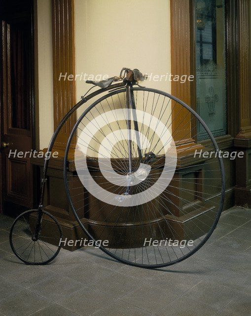 Penny farthing, (c1860s?). Artist: Unknown