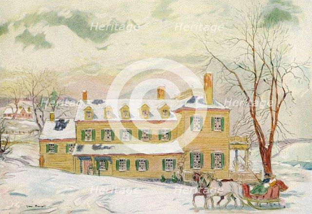 The Kendall House, Virginia, USA, c18th century (1921).Artist: James Preston