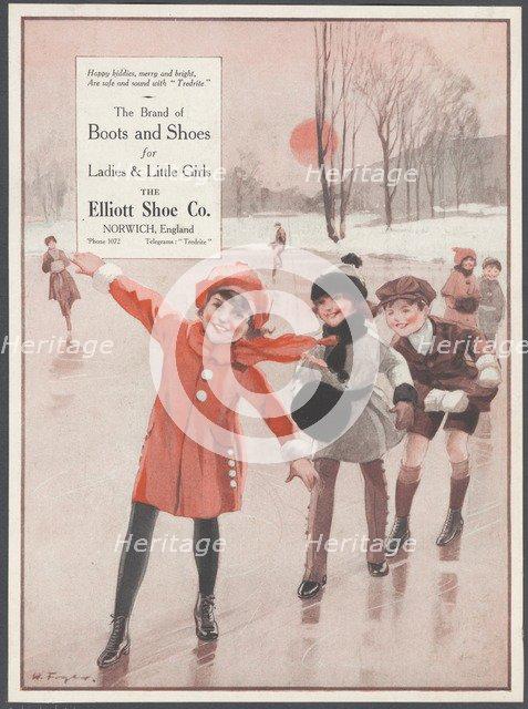 Elliott Shoe Company, c1920s. Artist: Wilfred Fryer
