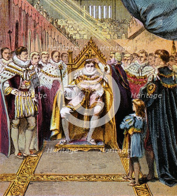 'Coronation of George IV, 1820', (c1850s). Artist: Unknown