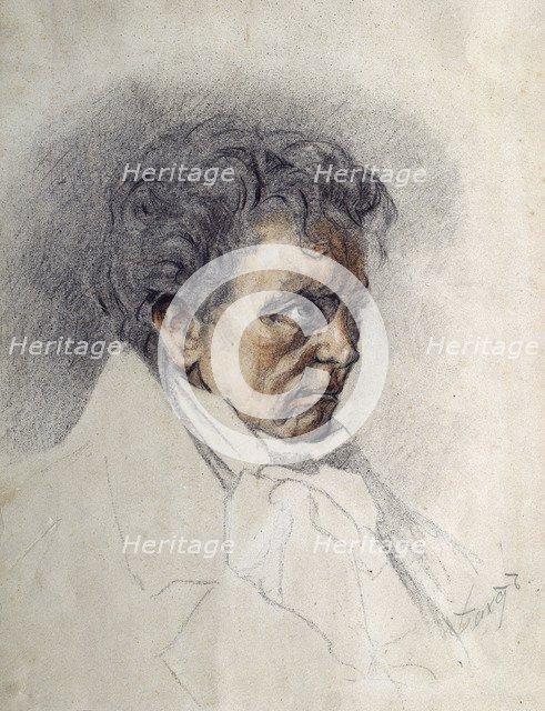 Ludwig van Beethoven (1770-1827). Artist: Bakst, Léon (1866-1924)