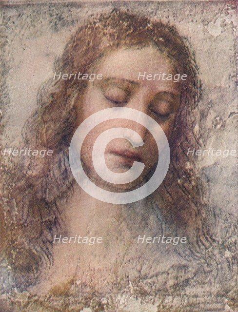 Study for the head of Christ for The Last Supper, c1495, (1911). Artist: Leonardo da Vinci