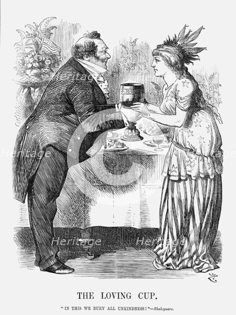 'The Loving Cup', 1872. Artist: Joseph Swain