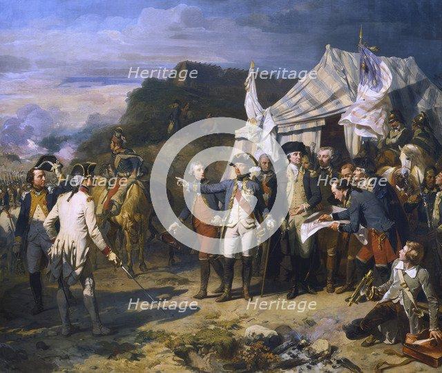 'Siege of Yorktown', 1781 (c1836). Artist: Auguste Couder