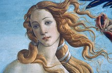 Thumbnail image of 'The Birth of Venus' (detail), c1485. Artist: Sandro Botticelli