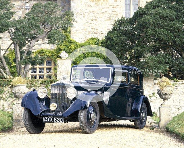 A 1935 Rolls-Royce 20/25. Artist: Unknown