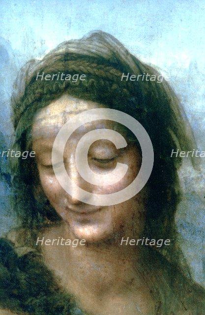 'Virgin and Child with St Anne' (detail), 1502-1516. Artist: Leonardo da Vinci