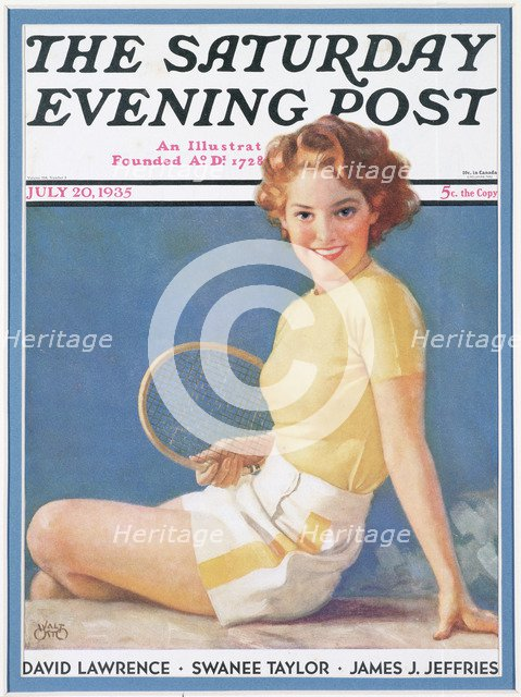 Cover of The Saturday Evening Post, American, July 20, 1935. Artist: Unknown