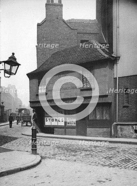 The Old Curiosity Shop, 13 Portsmouth Street, London, c1870-c1900. Artist: York & Son