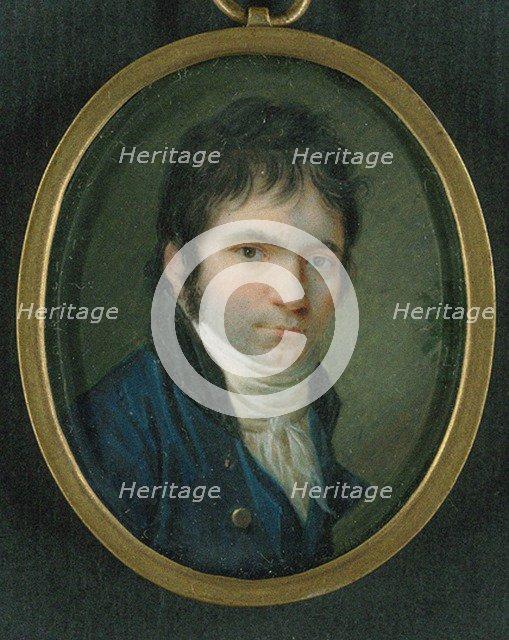 Ludwig van Beethoven (1770-1827). Artist: Horneman, Christian (1765-1844)