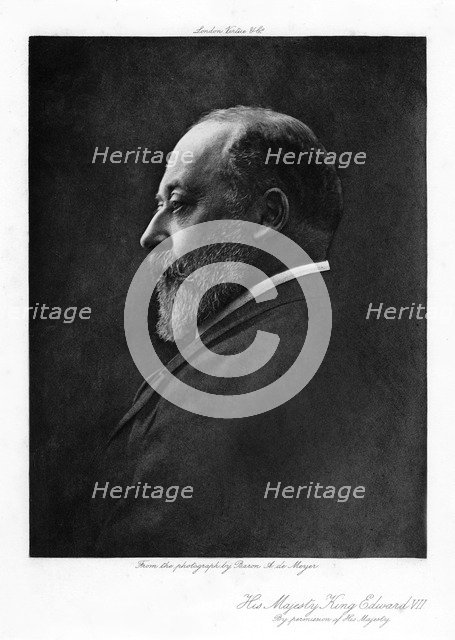 Edward VII, King of the United Kingdom of Great Britain and Ireland, 1901-1910. Artist: Unknown