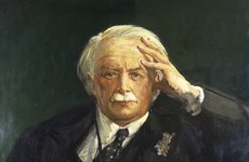 Thumbnail image of 'David, 1st Earl Lloyd George', (1863-1945), 1935. Artist: Sir John Lavery.