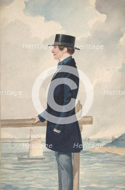 A Yachtsman, 1806-65. Creator: Robert Dighton the Younger.