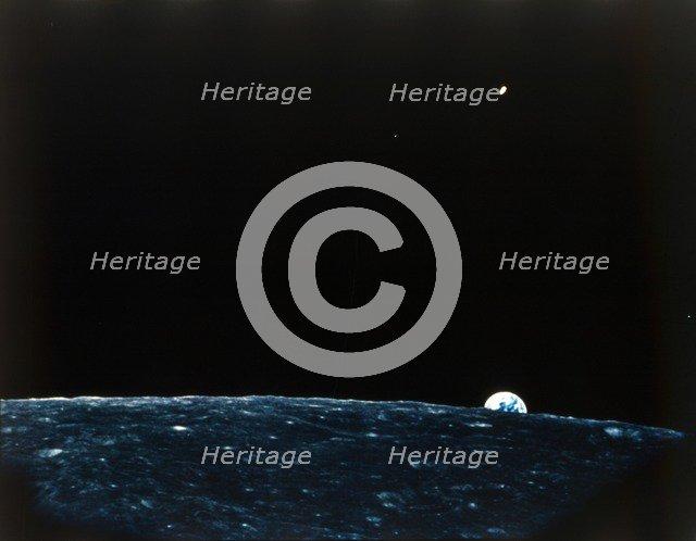 Earth from the Moon. Creator: NASA.