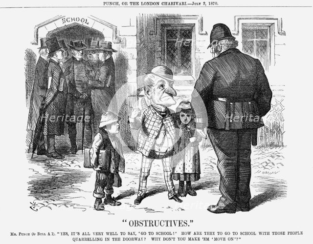 Obstructives, 1870. Artist: Joseph Swain