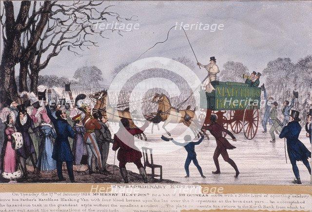 'Extraordinary Exploit', 1826. Artist: Anon