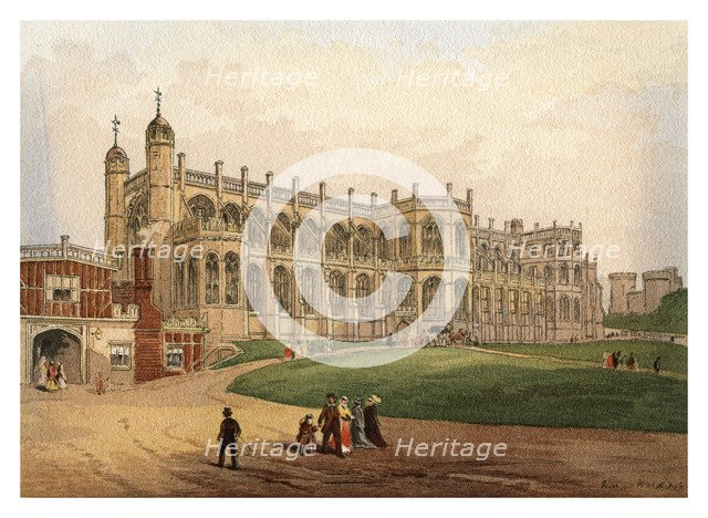 'St George's Chapel', 1880. Artist: Unknown