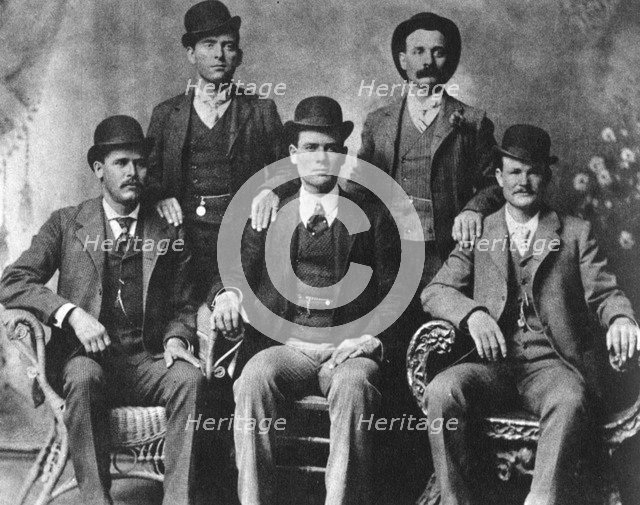 The Wild Bunch, American outlaw gang, 1901 (1954). Artist: Unknown