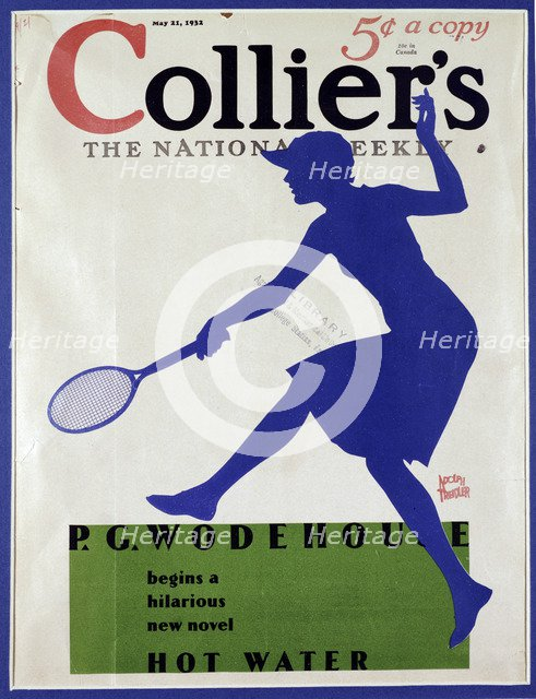 Cover of Collier's magazine, May 21, 1932. Artist: Unknown