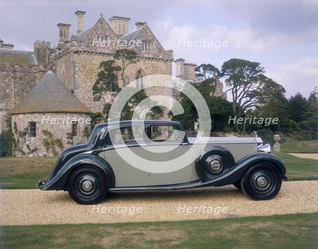 1938 Rolls-Royce Phantom III. Artist: Unknown