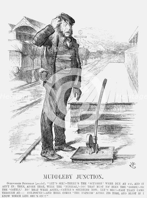 'Muddleby Junction', 1872. Artist: Joseph Swain