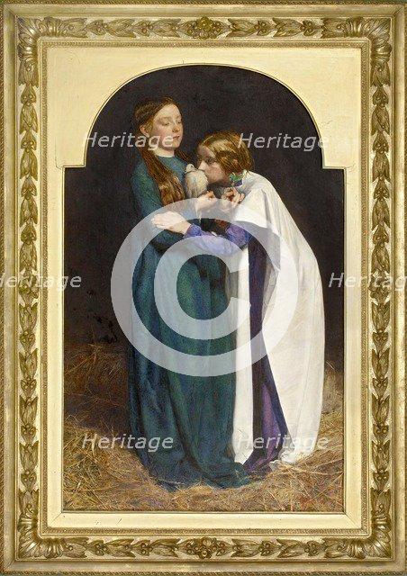 The Return of the Dove to the Ark, 1851. Artist: John Everett Millais.