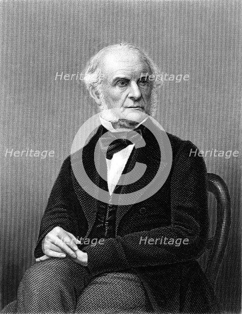 William Ewart Gladstone (1809-1898), British Liberal statesman, c1870. Artist: Unknown