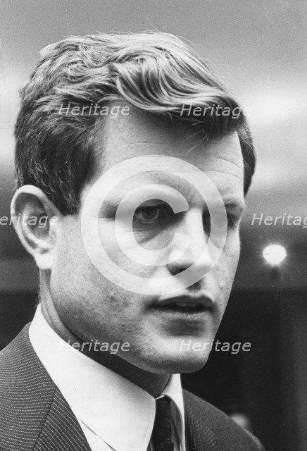 Senator Edward Kennedy (b1932), 1962. Artist: Unknown