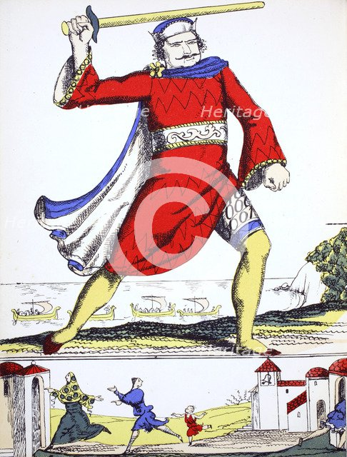William I, King of England from 1066, (1932). Artist: Rosalind Thornycroft