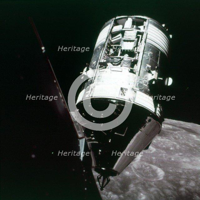 Command and supply capsule, Apollo 17 mission, December 1972. Creator: NASA.