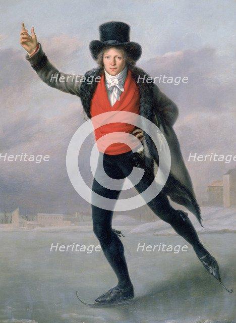 'The Skater', 1798.  Artist: Pierre Maximilien Delafontaine