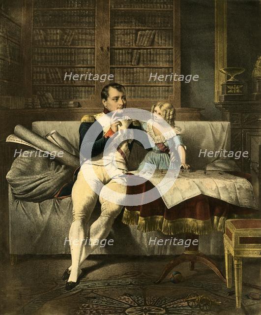 'Le Cabinet de Napoleon', 19th century, (1921). Creator: Unknown.