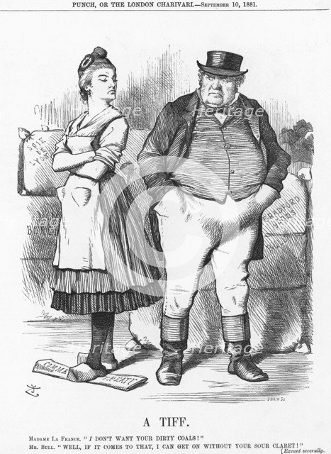 'A Tiff', 1881. Artist: Joseph Swain