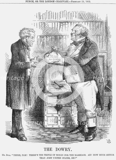 'The Dowry', 1863. Artist: John Tenniel